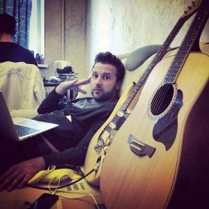Морсков с гитарой